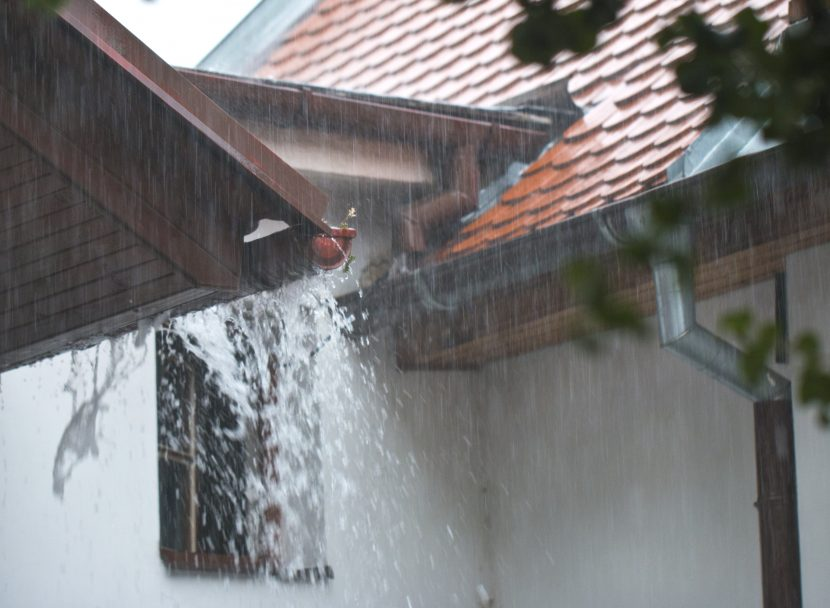 gutters and hurricanes