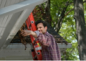 cleaning gutters need spring gutter guard instead