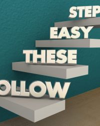 follow these easy steps graphic