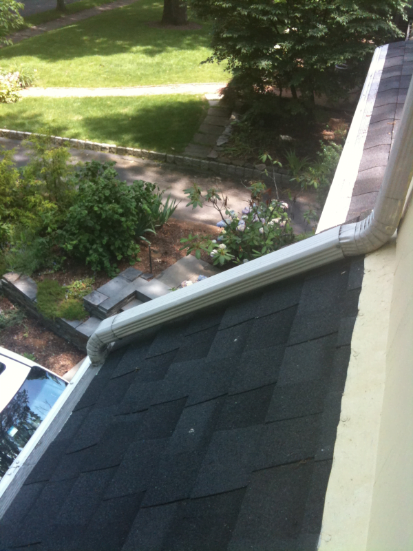 Extending the Downspout